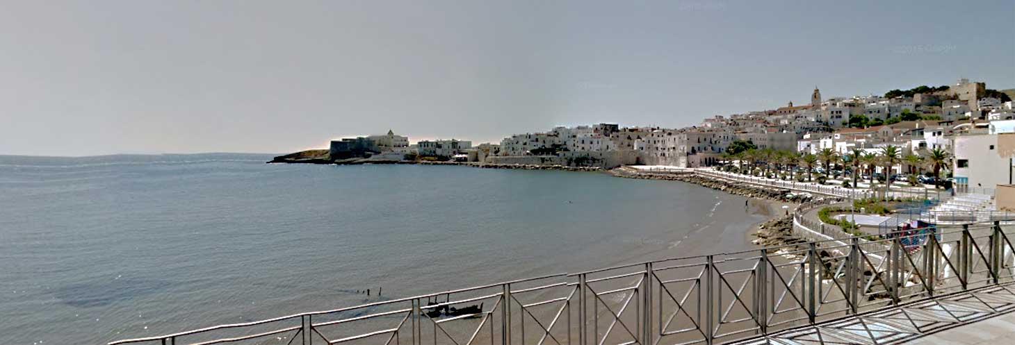 Piccola spiaggia di Marina Piccola a Vieste